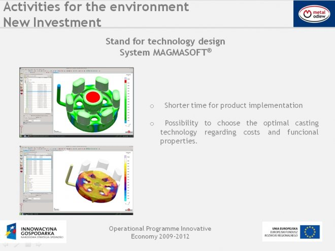 Stand for technology design System MAGMASOFT®